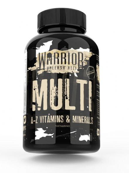 Warrior Essentials Multi Vitamins & Minerals x 60 Tablets: For Men And Women